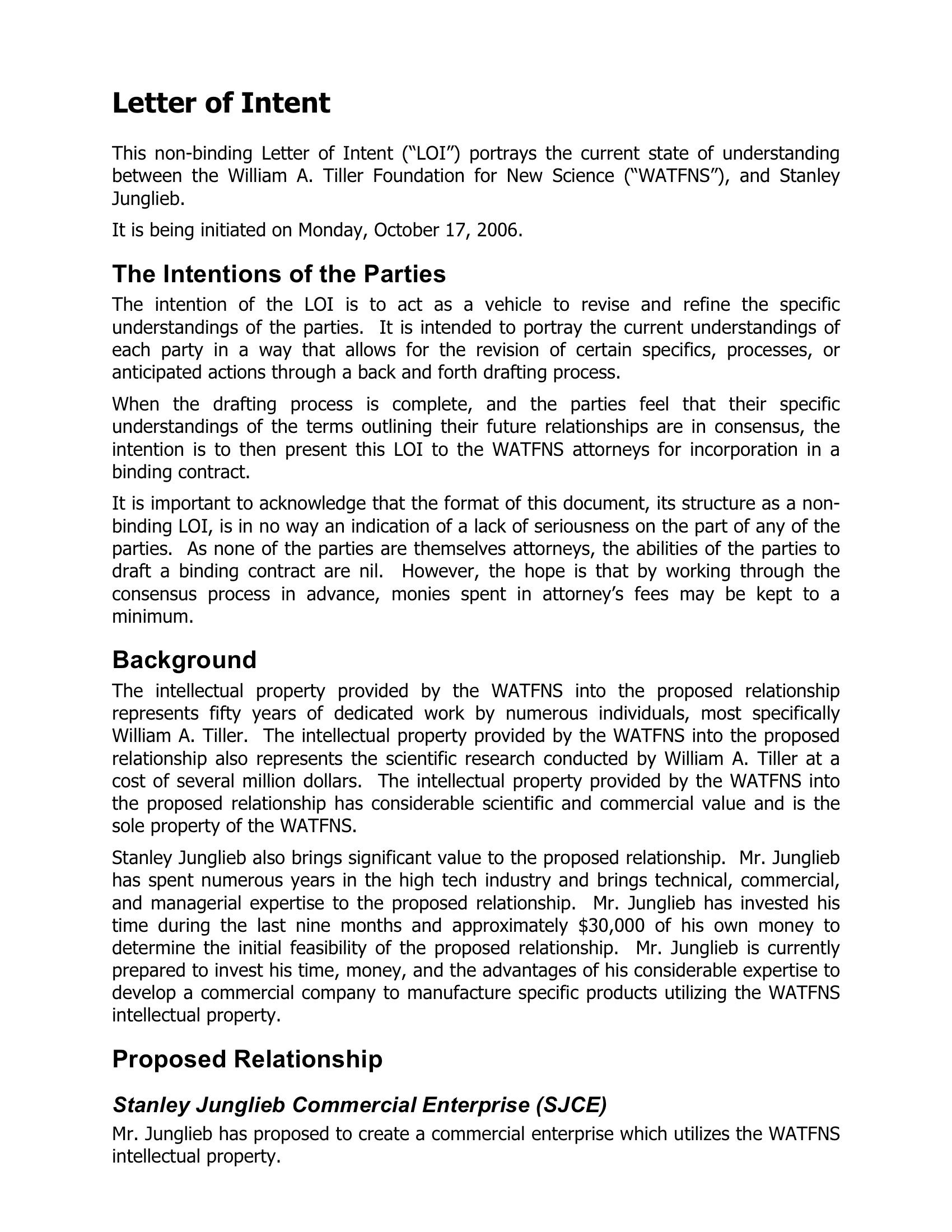 cover letter for grant proposal sample